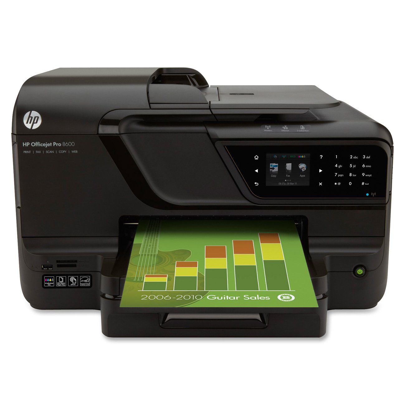 hp officejet pro 8600 e-all-in-one printer series manual