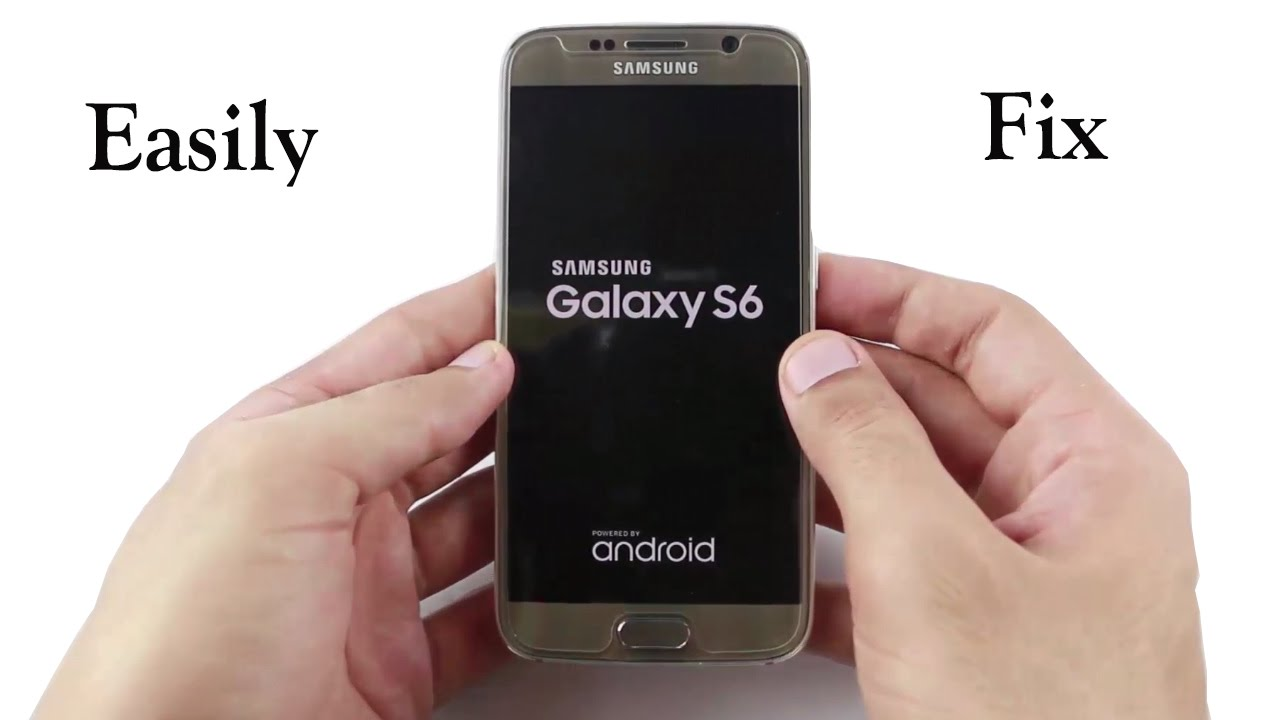 samsung s6 stuck on manual boot up