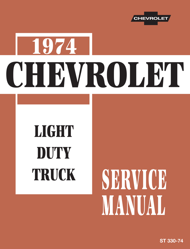 chevrolet truck service manual download