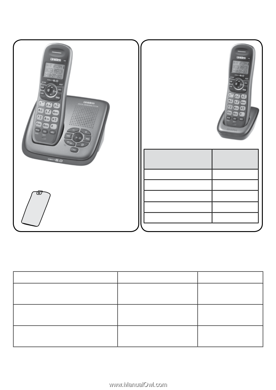at&t cordless phone model cl81301 owners manual