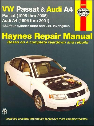audi a4 1998 owners manual download