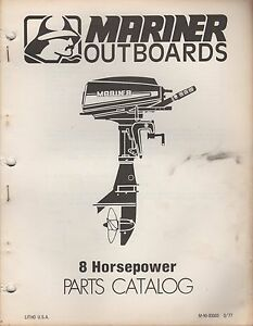 mariner 8 hp outboard service manual