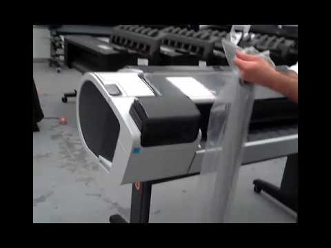 i have trouble to start hp designjet t1300 manual
