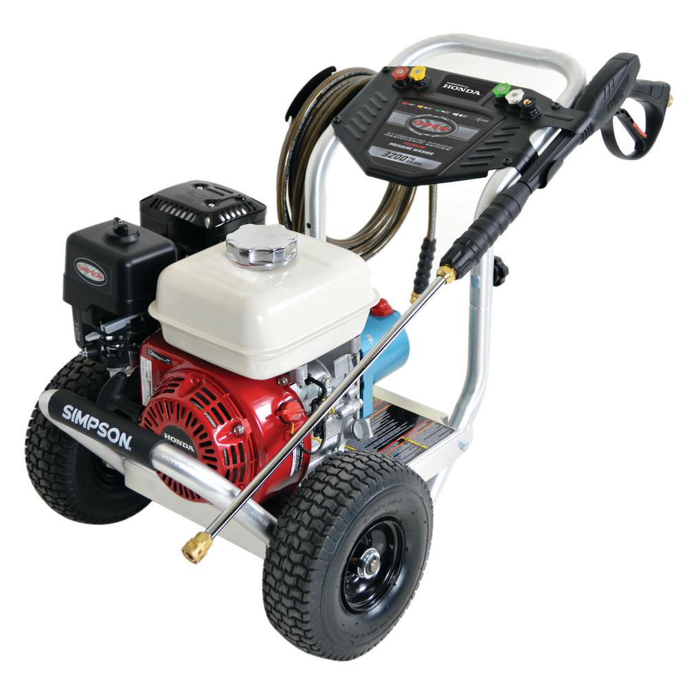 owner manual for simpson gas pressure washer model 310ht